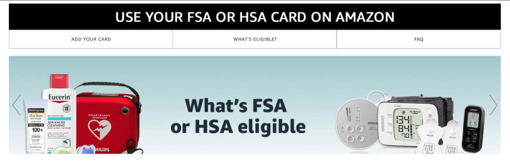 Amazon takes another step into health insurance space by accepting HSA and FSA accounts